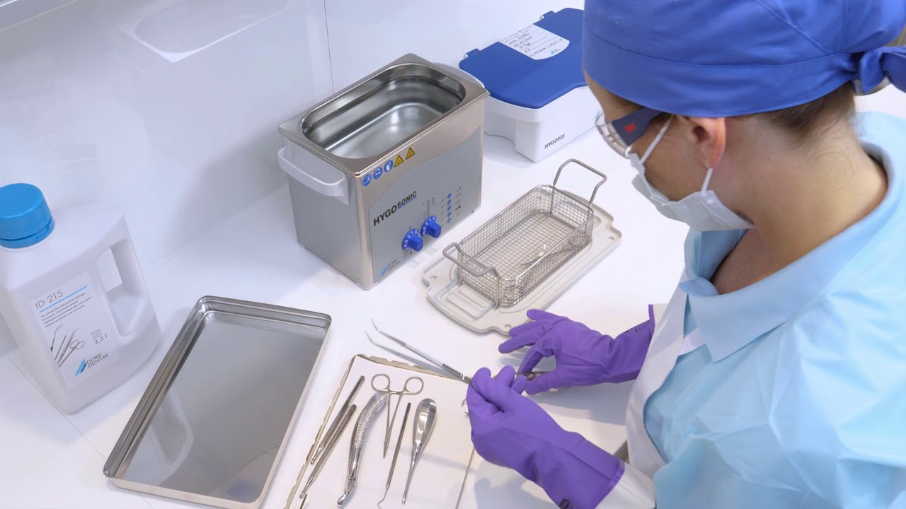 Dürr Dental disinfection and cleaning of instruments - YouTube