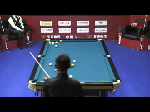 Lee Vann Corteza VS Hiroshi Takenaka - Men - 2017 Chinese Billiards World Championship