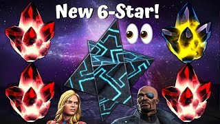 6-Star Crystal Opening! New Champ! 4x 5-Star Opening! - Marvel Contest of Champions