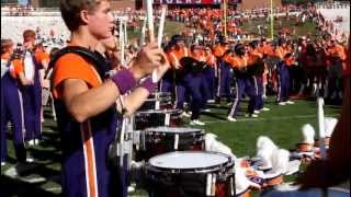 Clemson University Drumline after Va Tech 2012