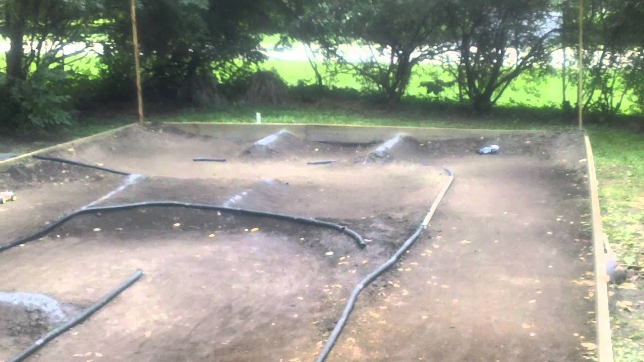 Backyard Rc Track 1 18 Scale New Layout Made It Bigger