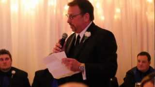 Best Father of the Bride Speech 2013