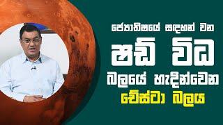 ජ්යොතිෂයේ සඳහන් වන ෂඩ් විධ බලයේ හැදින්වෙන චේස්ටා බලය   Piyum Vila   13 - 07 - 2021   SiyathaTV Thumbnail
