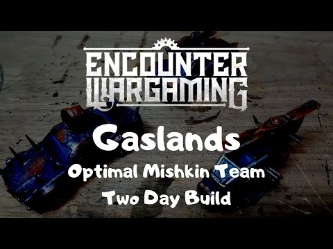 Gaslands - Optimal Mishkin Team Build - Quick and Easy Build & Paint