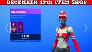 Fortnite Item Shop (December 17th) | No Way They Are Back... Mogul Master & Alpine Ace Skins!