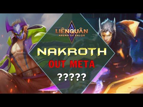 Liệu Nakroth có OUT META đi rừng hiện tại trong rank Việt - Garena Liên Quân Mobile