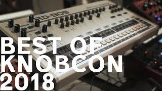 Top 3 Things at Knobcon 2018 + Thoughts on the Behringer 808