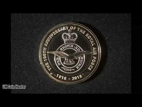 The New 2018 UK Coin Designs By The Royal Mint