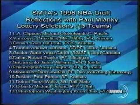 So Much to Talk About: Reflections on the 1998 NBA Draft (6/25/08)-Part I