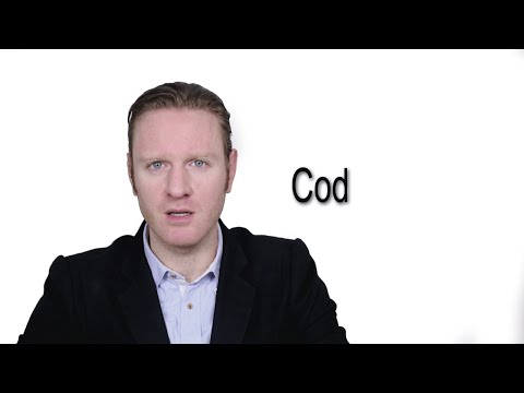 Cod - Meaning   Pronunciation    Word Wor(l)d - Audio Video Dictionary