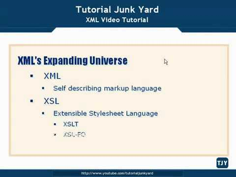 XML Tutorial   9 The XML Expanding Universe