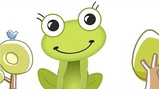"""Логопедический мультфильм для детей """"Лягушка путешественница. Звук [А]"""""""