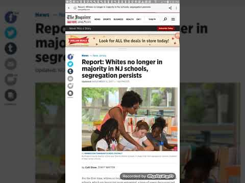 NJ Public Schools Are No Longer Majority White