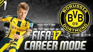 FIFA 17 ✪ КАРЬЕРА ТРЕНЕРА ✪ Borussia Dortmund #1