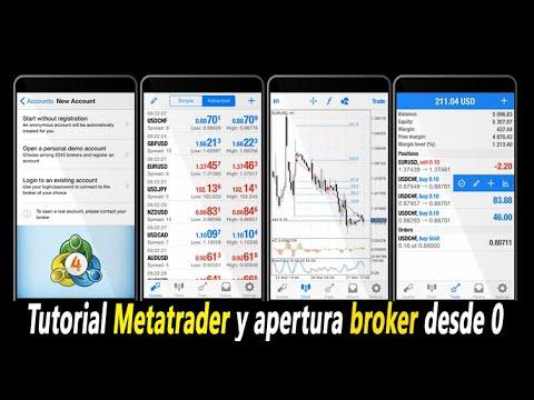 Tutorial Metatrader 4 MT4 principiantes desde cero