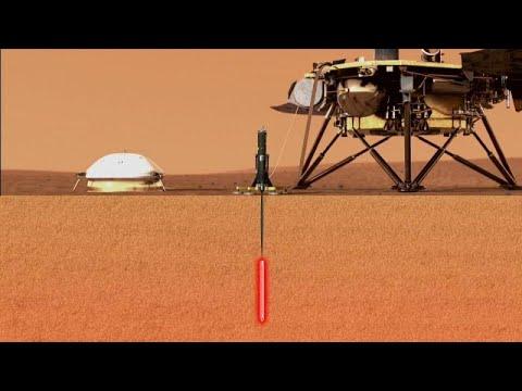 InSight explora profundezas de Marte