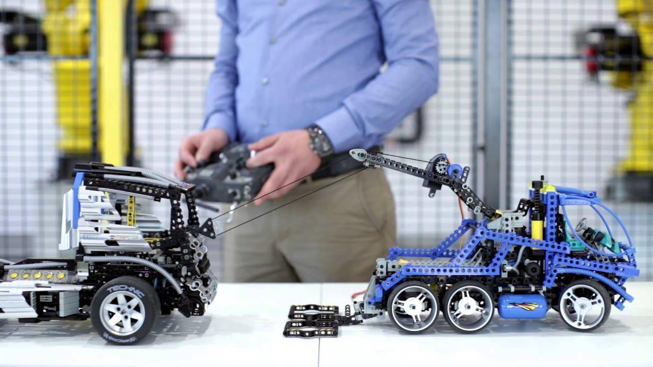 RCBricks - LEGO 8462 Tow Truck - RC controlled using ServoBrick PRO