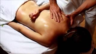 Masáž chrbta - ukážka