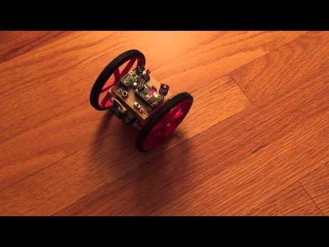 Rolling robot magnetometer test