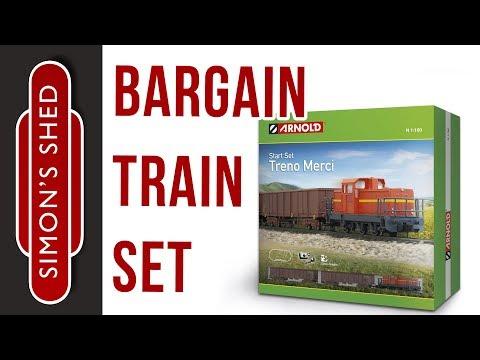 Train Set Unboxing 🚂  Hornby / Arnold Treno Merci starter set