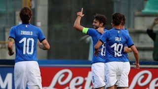 U21 Italia-Lussemburgo 5-0: il match visto dalla Vivo Azzurro Cam