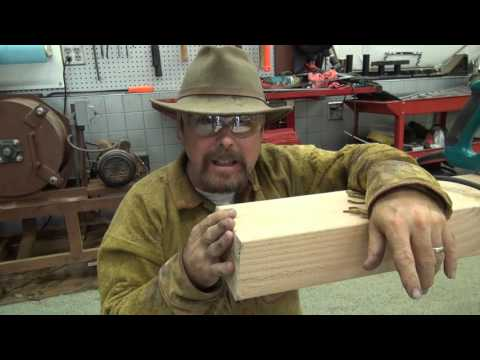 TIMBERING A SMALL MINE !!! Making The Supports. Ask Jeff Williams