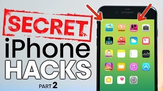 10 Secret iPhone Hacks in iOS 10! Part 2