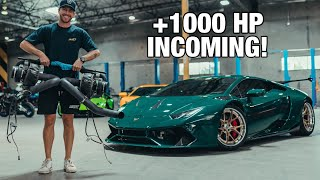 homepage tile video photo for Buying my Dream $60,000 Twin Turbo Kit for my Lamborghini Huracan!