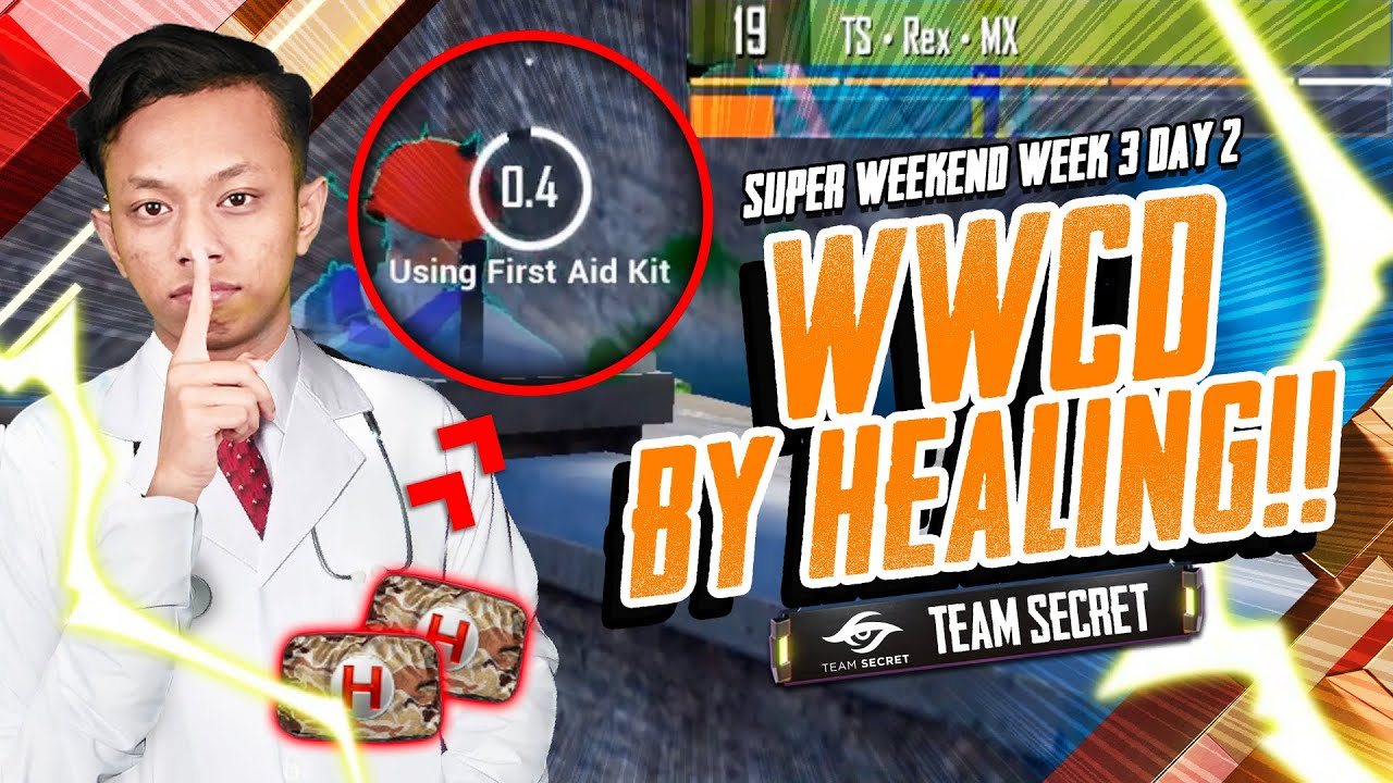 Dr REX WWCD by Healing! PUBG MOBILE: Super Weekend Week 3 Day 2 Highlight