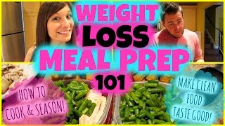 WEIGHT LOSS MEAL PREP 101: HOW TO COOK & SEASON! Nicole Collet