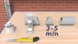 Монтаж трубной теплоизоляции Thermaflex. Угол 90 по радиусу(Монтаж трубной теплоизоляции Термафлекс, угол 90 по радиусу., 2014-06-18T04:49:47.000Z)