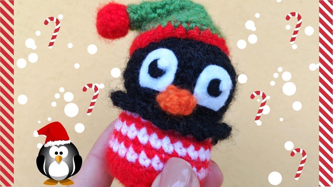 presa di fabbrica ottimi prezzi prezzo più economico AMIGURUMI CUPCAKE NATALIZI PINGUINO, crochet Penguin pattern free.