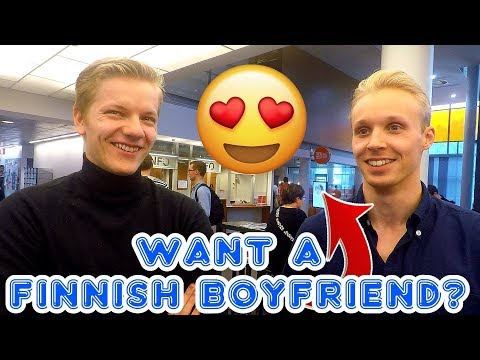 How To Date Finnish Men With ENG SUB (Interview)