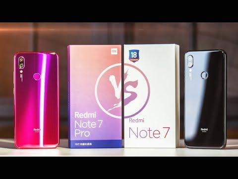 Xiaomi Redmi Note 7 Pro против Redmi Note 7 🔥 Как так получилось?