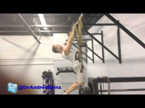 The 'Scapular Pull Up':  taking scapular stability to a useful level...