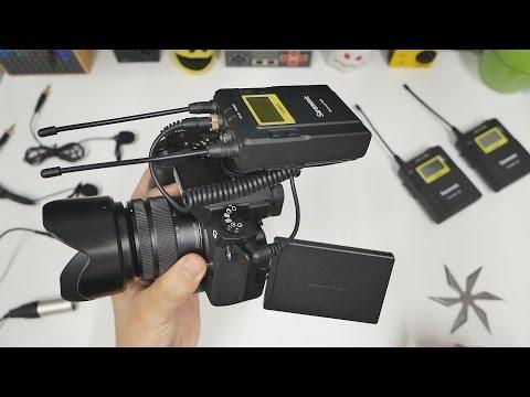 Saramonic: Wireless Microphone System for Digital Cameras