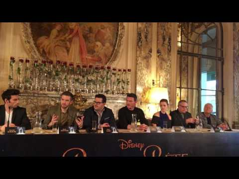 Beauty and the Beast: press conference Emma Watson, Luke Evans, Josh Gad, Bill Condon & Alan Menken