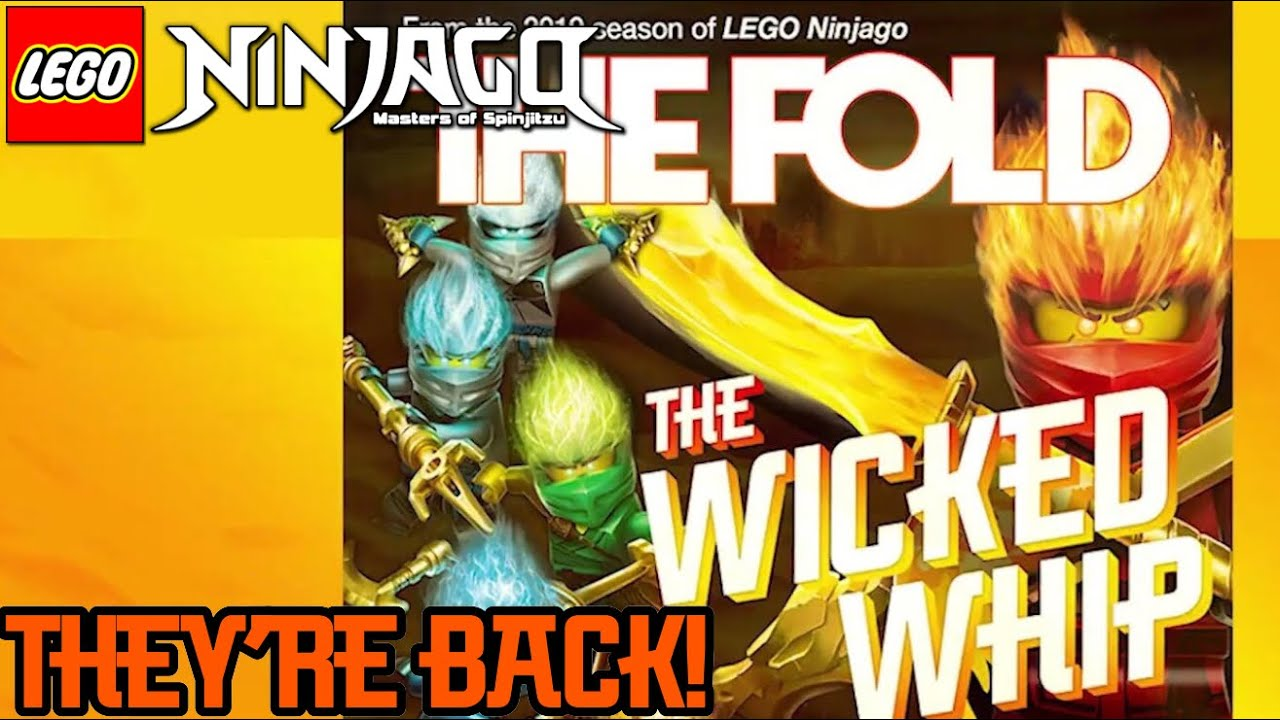 Ninjago Season 11: The Fold & Weekend Whip Have Returned! + All New Wicked  Whip!