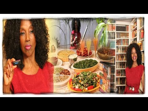 73 Years Young Annette Larkins on Wheatgrass and Sunflower Greens