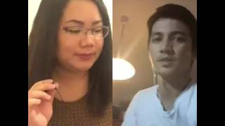 Regine V. & Ogie A. - Hanggang Ngayon (COVER BY KHRISTINE & MICKEY)