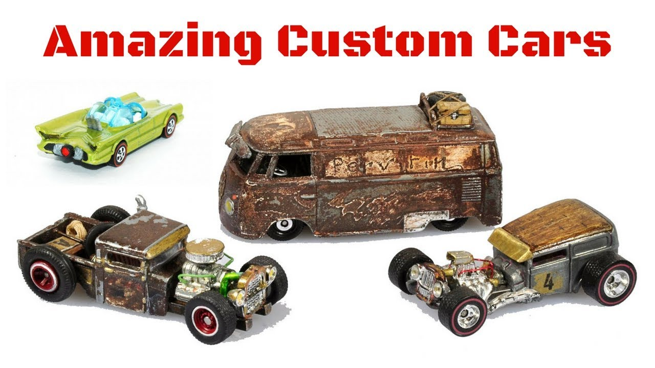Hot Wheels Custom Cars Which Car Do You Like The Most