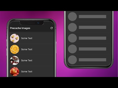 Flutter Tutorial - Precache Images & Lazy Loading Images (Cached Network Image)