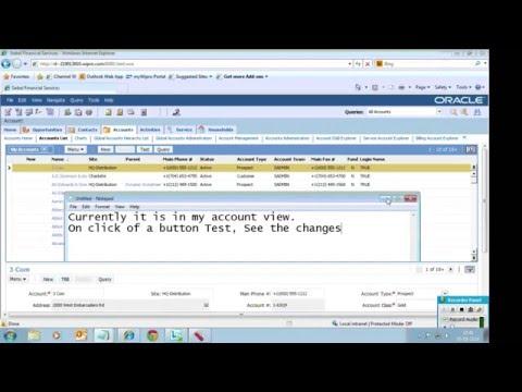 Siebel eScript example