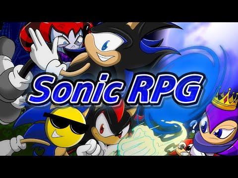 Играем в фан-игры — Sonic RPG