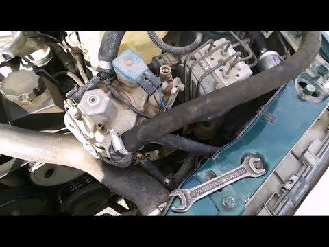 Как снять газ с автомобиля
