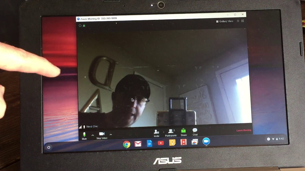 Initial Use of Zoom & Joining a Meeting on a Chromebook