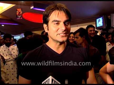 Actor Arbaaz Khan attends premiere of Swades in Mumbai