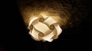 20pieces instruction, Iq light, Iq lamp, jigsaw light, jigsa...
