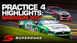 Highlights: Practice 4 Sandown 500 | Supercars Championship 2019
