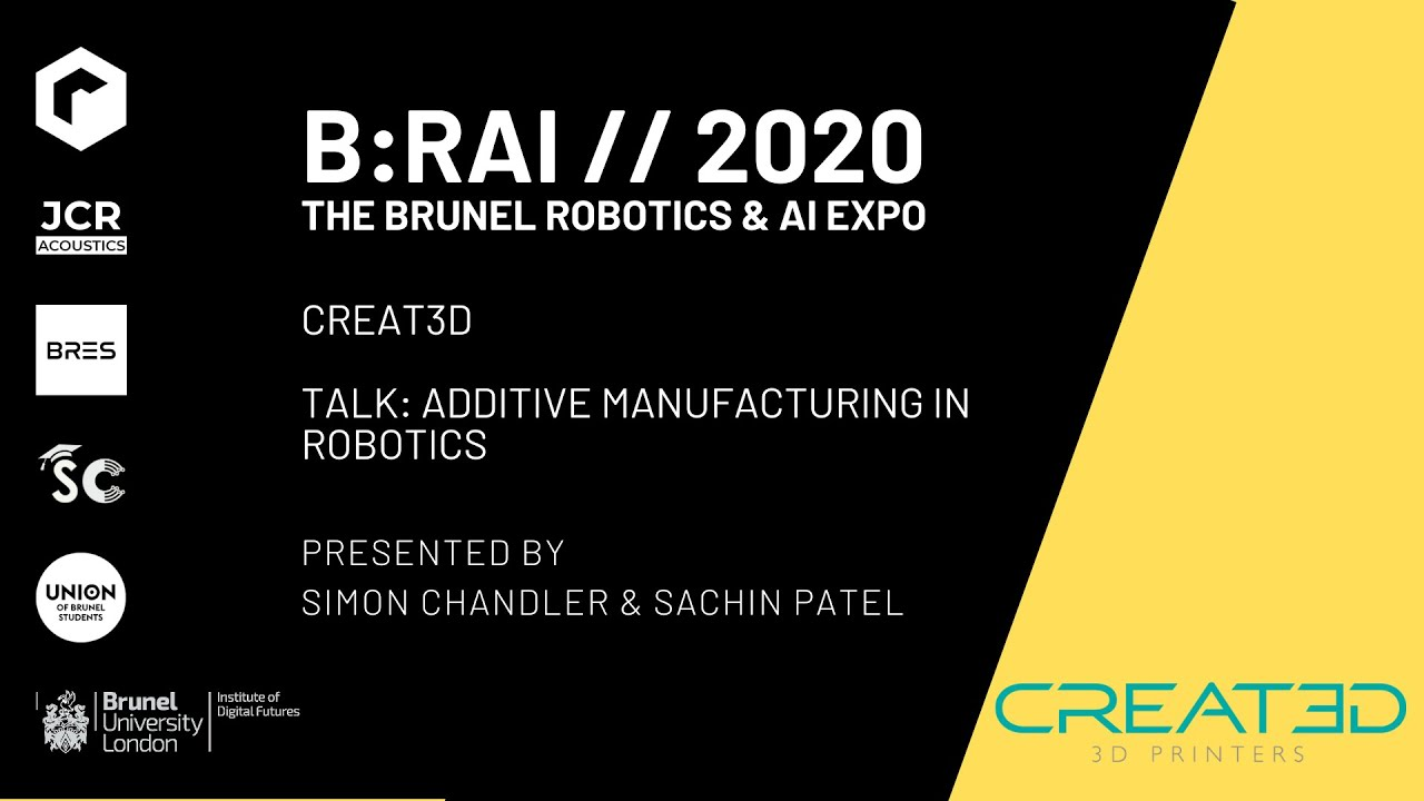 ADDITIVE MANUFACTURING IN ROBOTICS